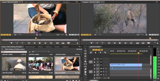 DSLR Editing Workflow in Adobe Premiere Pro