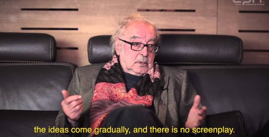 Interview with Jean Luc Godard During Cannes 2014