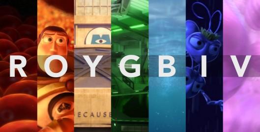 ROYGBIV A Pixar Supercut
