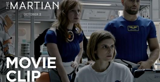 The Martian – Starring Jessica Chastain, Matt Damon, Kate Mara