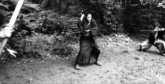 Pre Vis Samurai Action Scene