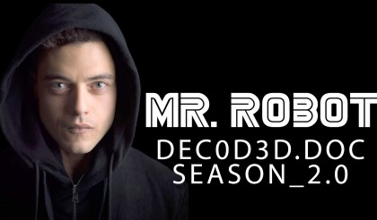 Mr. Robot Season 2 with Rami Malek, Christian Slater, Portia Doubleday